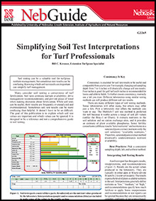 Simplifying Soil Test Interpretations for Turf Professionals