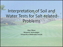 interpretation of soil and water tests presentation image