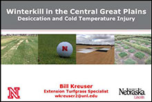Winterkill 2014 in the Central Great Plains