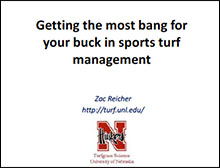 Image link to Rocky Mountain Most bang for your buck in sports turf