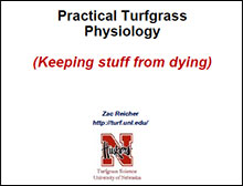 Image link to Rocky Mountain practical turfgrass physiology