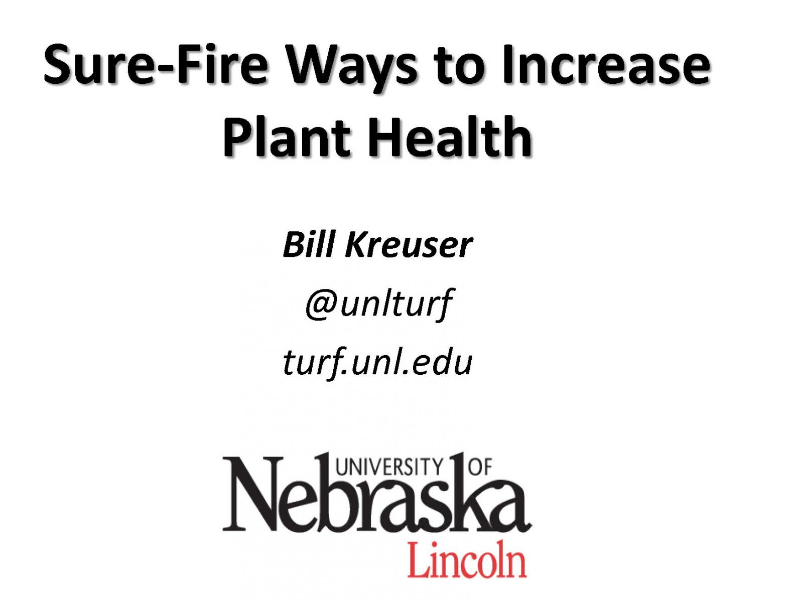 Sure-Fire Ways to Increase Plant Health