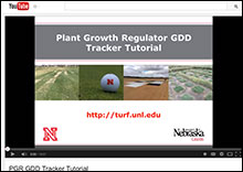 PGR GDD Training Video